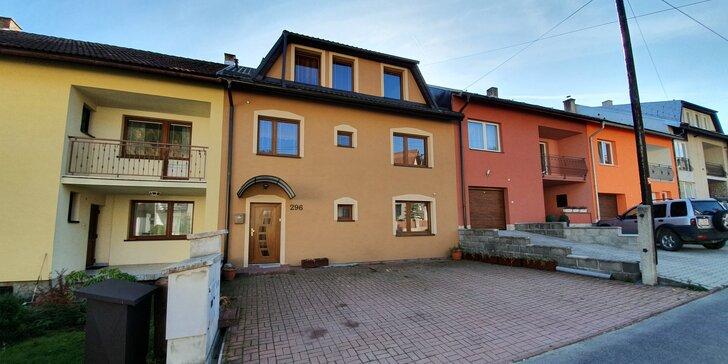 Pobyt na Orave pri Zuberci v apartmánovom dome Olina s veľkým apartmánom pre páry i rodiny