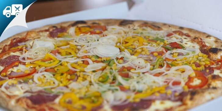 Pravá talianska pizza s priemerom 33 alebo 50 cm v Pizzalino Zvolen