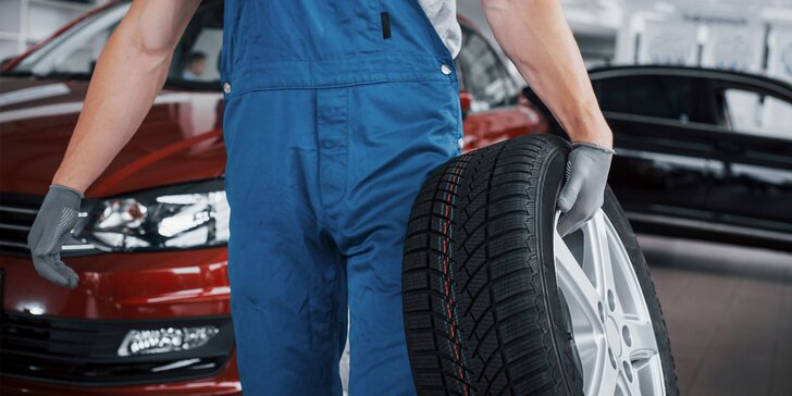 Výmena kolies či kompletné prezutie pneumatík + kontrola bŕzd a podvozku