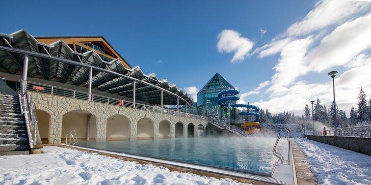 Dovolenka pre dvoch v adult friendly hoteli, výhľad na poľské Tatry a varianty s aquaparkom Termy Bukovina