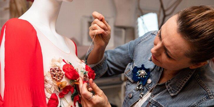Kurz šitia, vyšívania, potlače či výroby a dekorovania doplnkov v Ateliéri 71