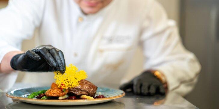 Zakopané: Viacchodové menu v reštaurácii Przy KominQ s možnosťou wellness