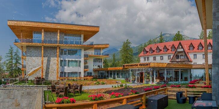 Dependence Hrebienok Resort: ubytovanie v apartmánoch s modernou architektúrou