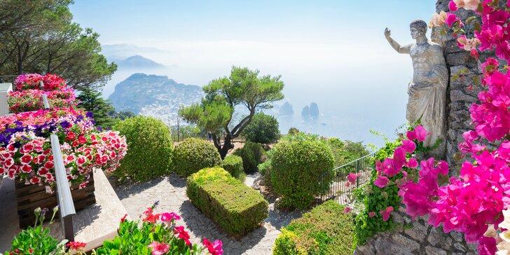 Poznávací zájazd do Kampánie: Neapol, Vezuv, Pompeje a ostrov Capri