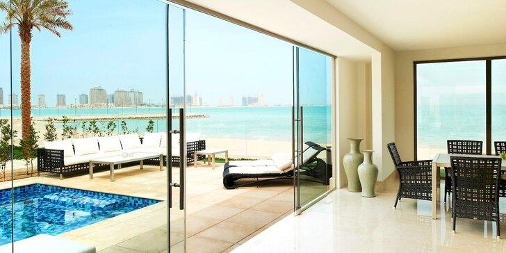 Dovolenka v orientálnom Katare: 4-11 nocí v 5* rezorte s plnou penziou a bazénom