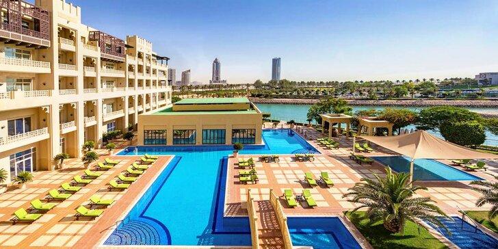 Nádherný 5* rezort pri súkromnej pláži v Katare: 4-11 nocí s plnou penziou a spa