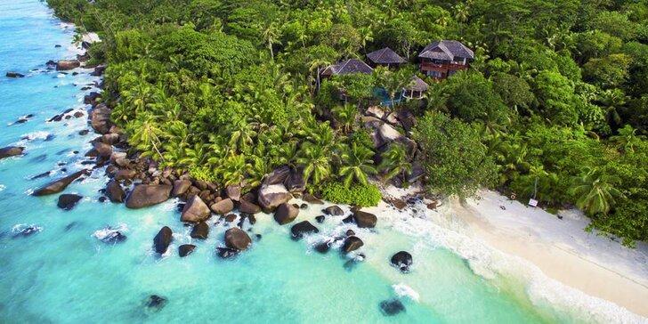 Luxusná dovolenka na Seychelách: 6-10 nocí v 5* hoteli s polpenziou a kúpeľmi