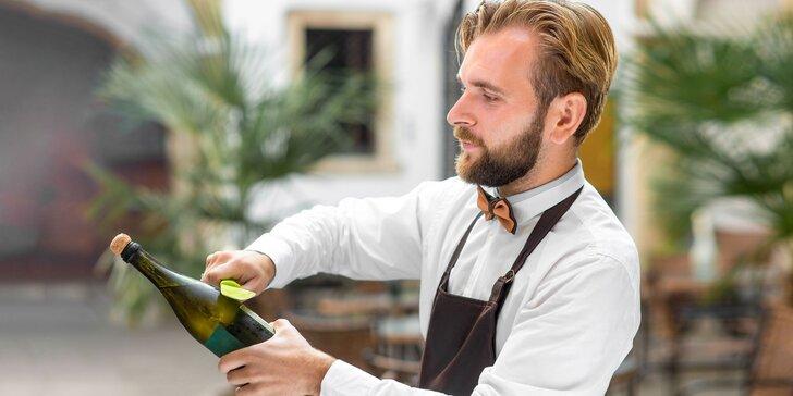 Škola sabráže - vlastnoručná sabráž a ochutnávka vín s WINE EXPERT
