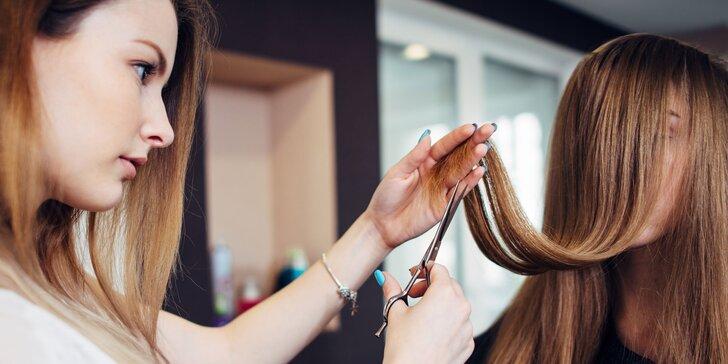 Dámsky strih a keratínová kúra pre vaše vlasy