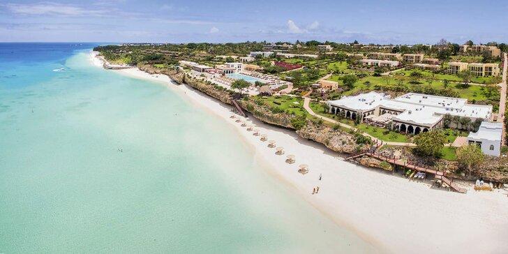 Dovolenka na exotickom Zanzibare: 6-12 nocí v 5* rezorte, all inclusive a bazén