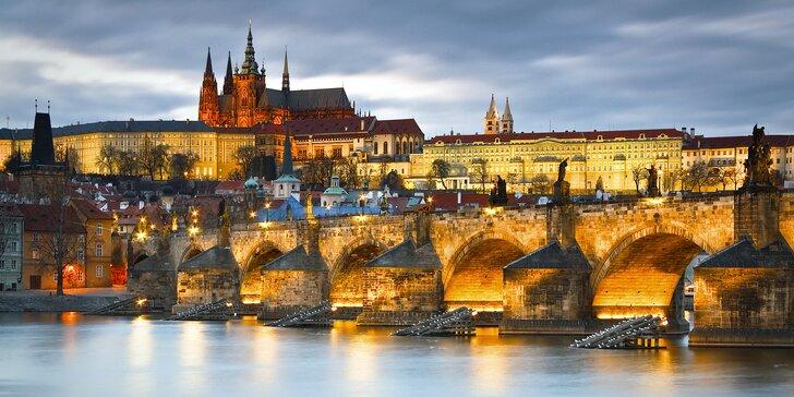 Praha ako na dlani: pobyt s raňajkami v blízkosti Václavského námestia