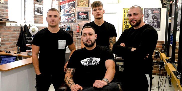 Štýlový strih, čistenie pleti a úprava brady v Barber family