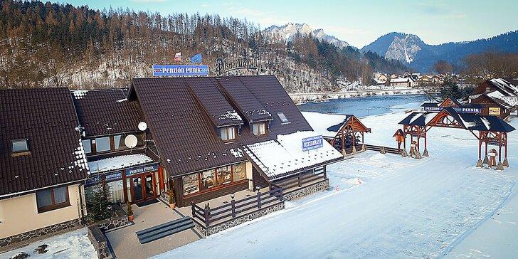 Pohodová dovolenka a relax v saune či vo vírivke pre celú rodinu v Pieninách