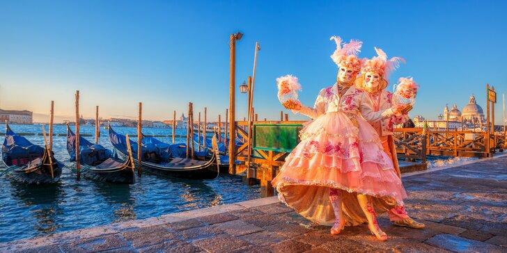 3-dňový zájazd za karnevalom do Benátok: jedinečná atmosféra a prehliadka mesta so sprievodcom