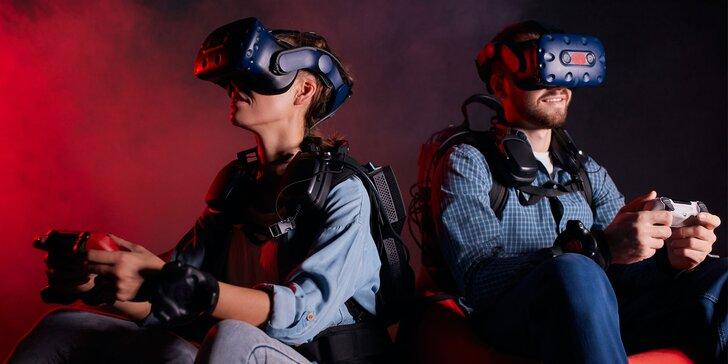Virtuálna realita v novom zábavnom centre Galaxia