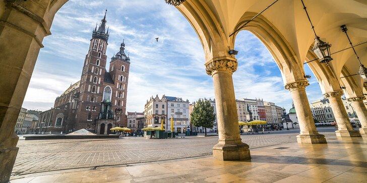 Krakov a raj zážitkov v bani Wieliczska - dvojdňový zájazd s ubytovaním a raňajkami