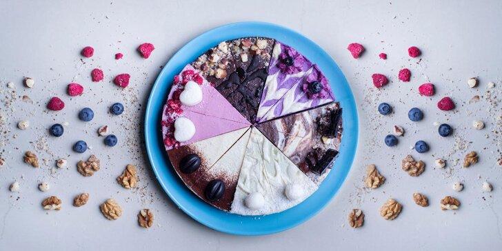 Lahodné RAW torty či tortový mix v rôznych príchutiach