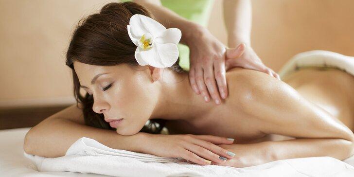 60, 90 či až 120 minút dokonalého valentínskeho relaxu na masáži