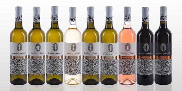 Moderovaná degustácia 9 vín z Vinárstva Anton Uhnák + občerstvenie