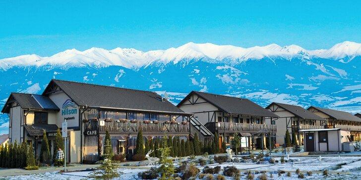 Pobyt v moderných apartmánoch Hilson v Jasnej pre páry aj rodiny so vstupom do wellness a zľavami na lyžovanie aj aquaparky