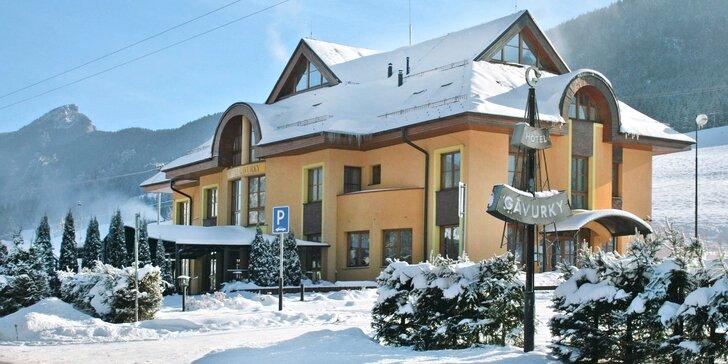 Pobyt v Národnom parku Malá Fatra v Garni Hoteli Gavurky***