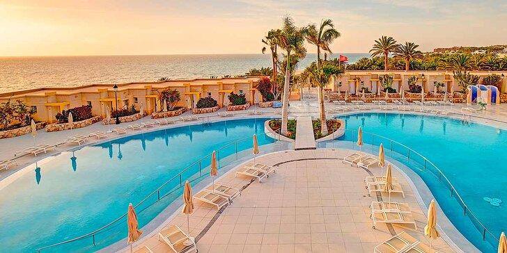 Nádherné pobrežie Costa Calma - 4* hotel s all inclusive v centre mesta