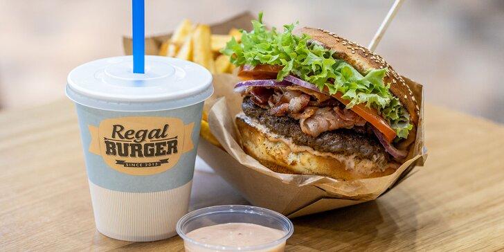 Regal Burger, ktorý milujete, v bratislavskom Auparku!