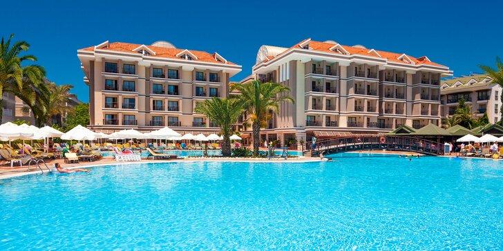 Pobrežie Antalye pre rodiny i pôžitkárov: 5* hotel vrátane all inclusive