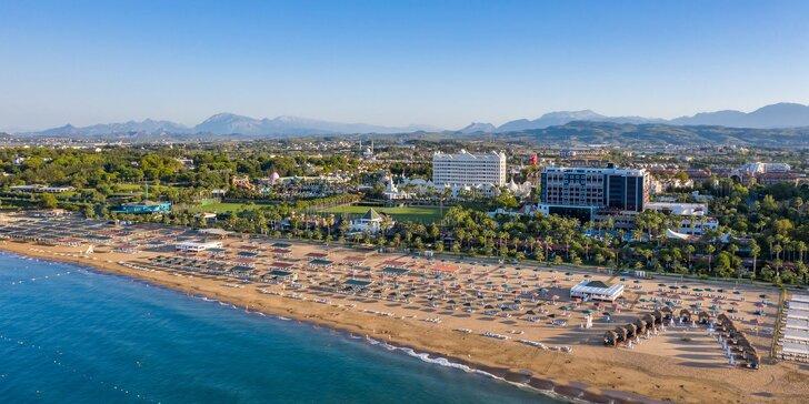 Prázdninový komplex na pobreží Antalye: all inclusive, wellness, aquapark