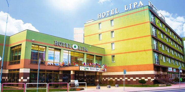 Romantický pobyt v Hoteli Lipa*** s polpenziou