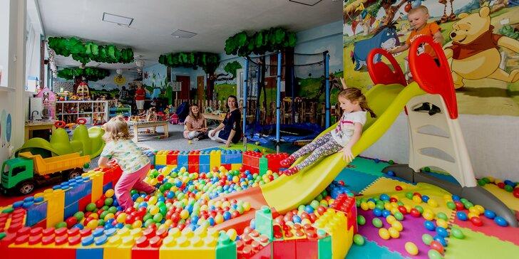 Vstup na detské ihrisko či prenájom priestorov na oslavy alebo prázdninové stráženie