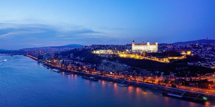 Luxusné ubytovanie v River view Residence - atraktívna lokalita v centre mesta s výhľadom na Dunaj