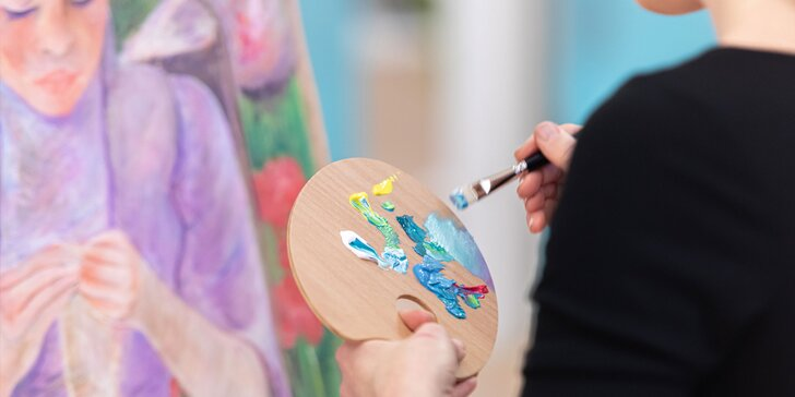 """Kreatívne balíčky """"Ochutnávka umenia"""" v ArtBloom"""