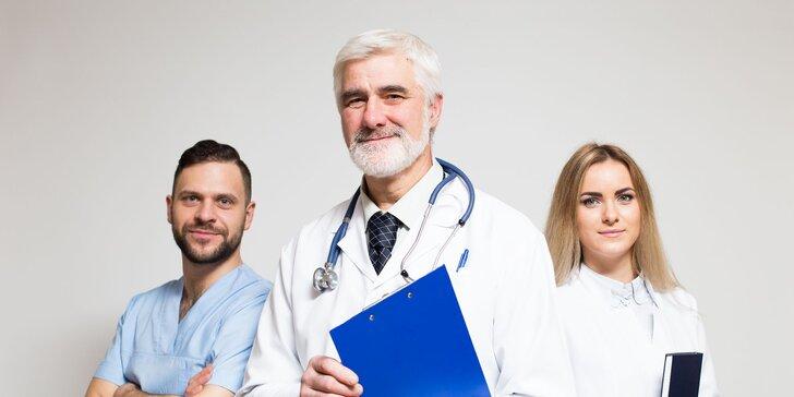Komplexné proktologické vyšetrenie - klinika otvorená