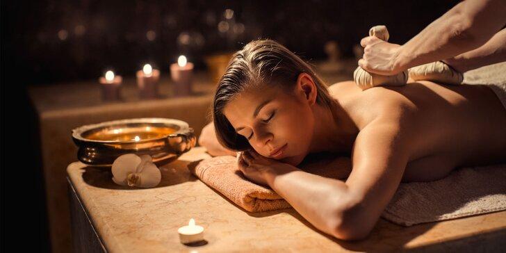 Valentínske balíčky ayurvédskych masáží