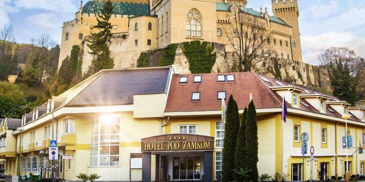 Pobyt v 4* Hoteli Pod Zámkom: polpenzia a vstup do wellness