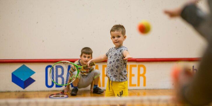 Tenisové lekcie pre deti i dospelých pod dohľadom licencovaného trénera