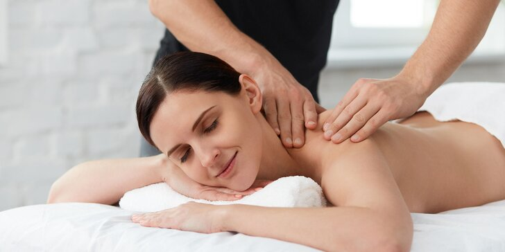 Oddýchnite si pri reflexnej masáži chrbta či klasickej celotelovej masáži