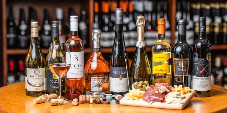 Valentínska degustácia vín riadená profesionálnym someliérom