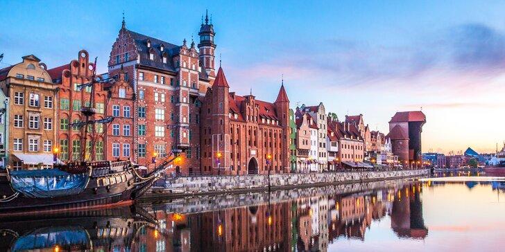 Dovolenka v Gdaňsku pri Baltskom mori: polpenzia a neobmedzený wellness