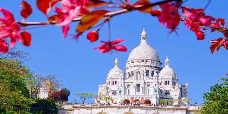 Paríž a Versailles: 5-dňový zájazd s ubytovaním a raňajkami