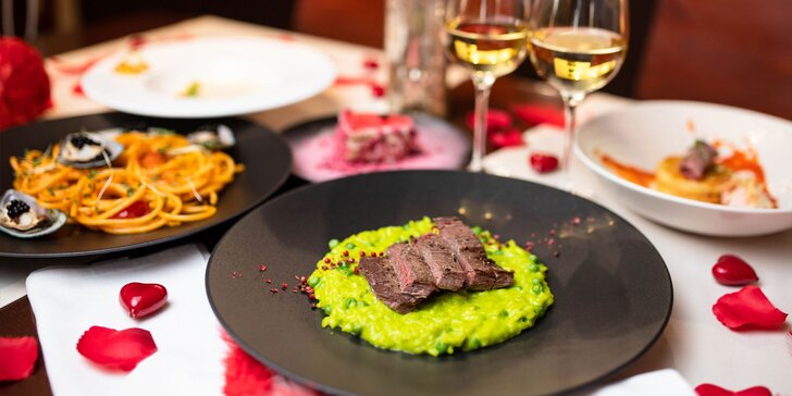 Nevšedná valentínska večera pre 2 osoby v CUBES Restaurant