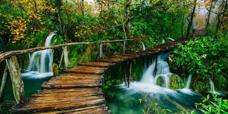 Tri dni kúpania v Crikvenici s návštevou Plitvických jazier