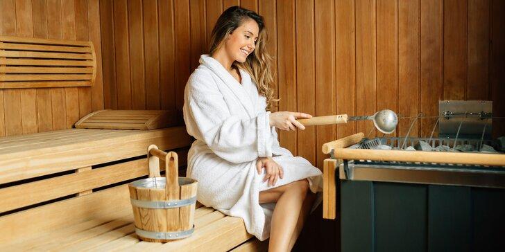 Vstup do fínskej sauny, vírivky alebo bazénov pre 1 osobu