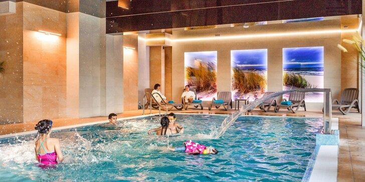 Nové apartmány v poľskom Kolobrehu: vybavená kuchynka, výhľad na more, bazén a sauna