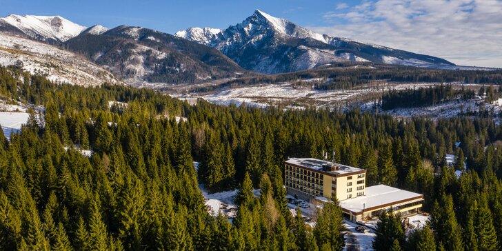 Pobyt v Hoteli PIERIS*** v krásnom horskom prostredí Podbanského + vstup do najväčšieho wellness Grand Hotela PERMON****