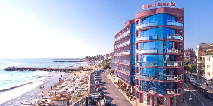 Dovolenka v bulharskom letovisku Pomorie: hotel priamo pri pláži a stravovanie formou all inclusive