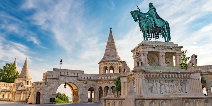 Zájazd rovno do dvoch svetových metropol: Budapešť a Viedeň s ubytovaním v hoteli