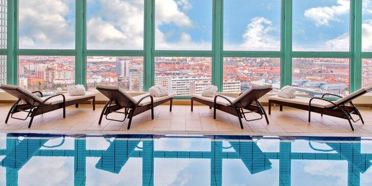 4 * pobyt v hoteli Panorama v Prahe: raňajky, neobmedzený vstup do wellness aj letné prázdniny