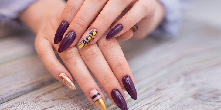 Precízne gélové či akrylové nechty alebo klasická pedikúra